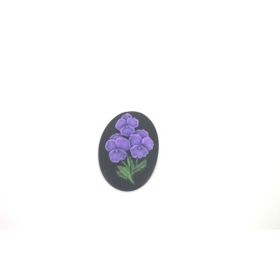 Flowers cameo