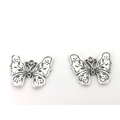 Butterfly steel charms