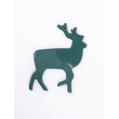 Green resin reindeer for your Christmas creations
