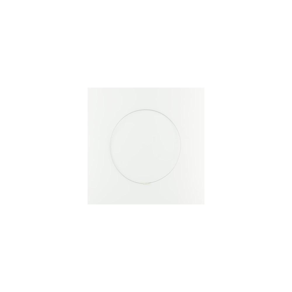 Collana a cerchio metallo plastificato
