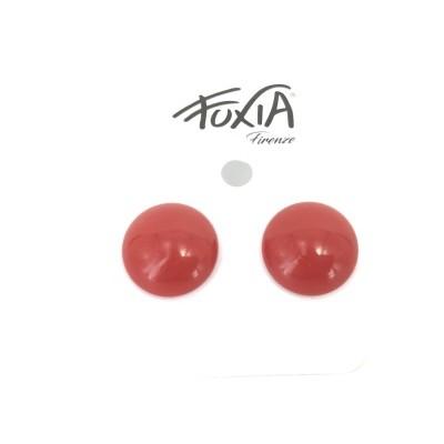 Orecchini bottone per orecchio forato
