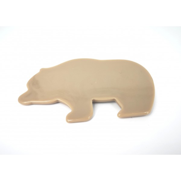 Brooche in the shape of animal bear