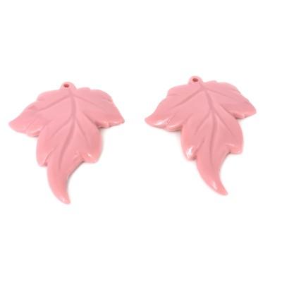 Foglie rosa foro alto